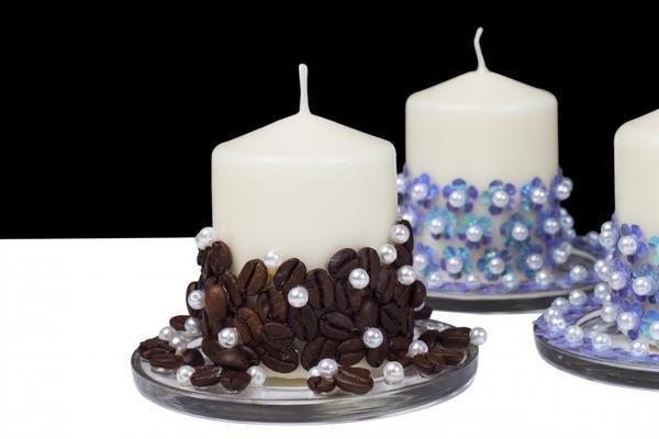 Свечи своими руками в подарок на Новый год
