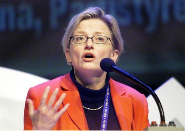 Анна Линдх - министр экологии Швеции