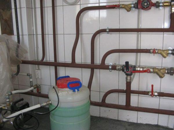 Антифриз для отопления