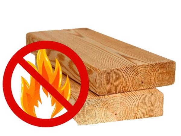 Огнезащита древесных конструкций