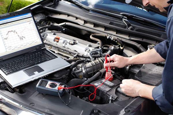 компьютерной диагностики двигателей автомобилей Форд