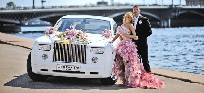 Машина на свадьбу в Санкт-Петербурге