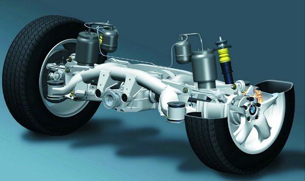 ремонт пневмоподвески BMW