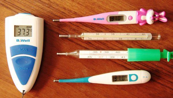 виды термометров для измерения температуры тела 4