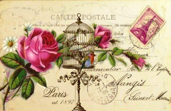 Когда появились открытки