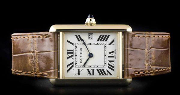Часы Cartier знаменитая модель Танк