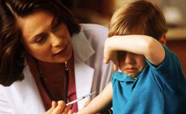прививки в садике