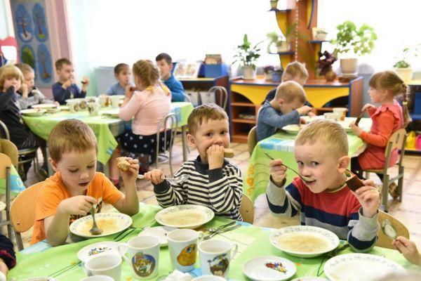 Питание в детском сад