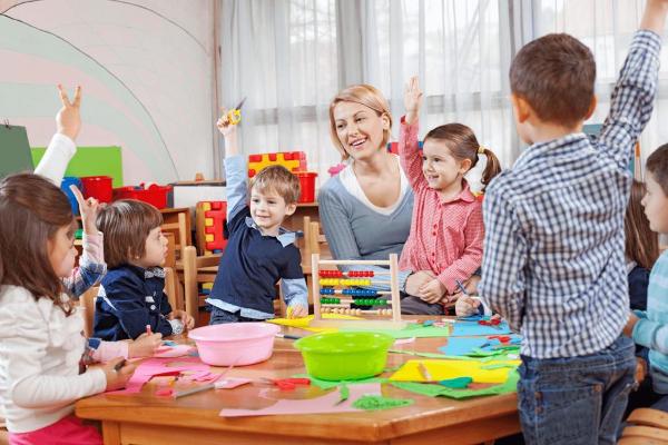 моменты для ребенка в детском саду