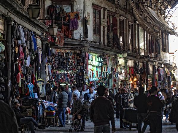 Хамидия в старом Дамаске.