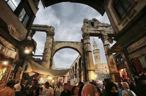 Колоны Старого базара