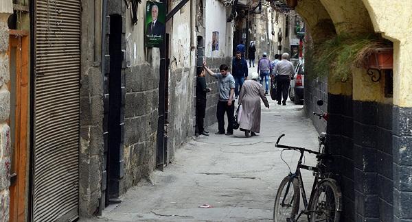 Улочки Дамаска