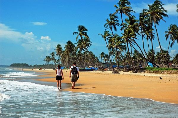 Пляжи Индии в марте