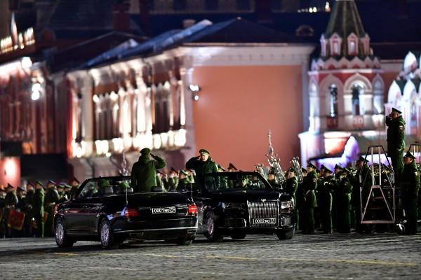 День победы в Москве репетиция