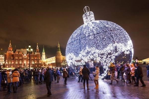 Где погулять в Москве ночью зимой