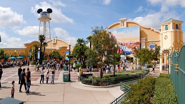 Walt Disney Studios Park в Париже