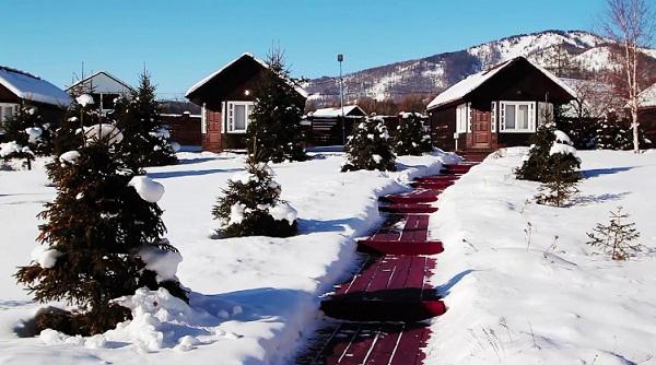 Заимка Камза зимой