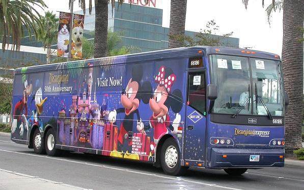 автобус до диснейленда в париже
