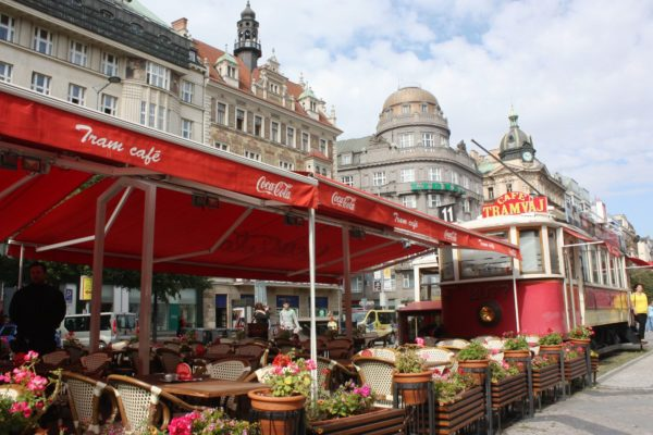 Кафе в Праге