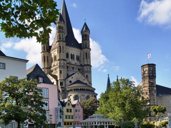 Большой Святой Мартин – древнейшая церковь Кёльна