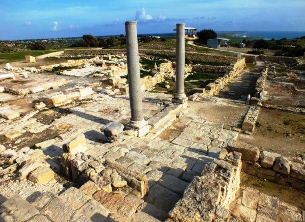 В Лимассоле сохранились античные постройки и руины древних сооружений
