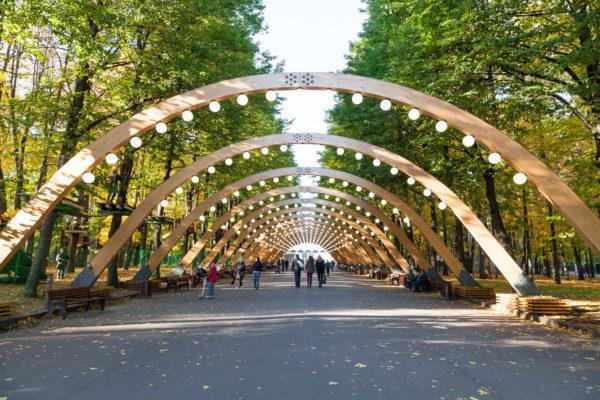 парковые зоны Москвы