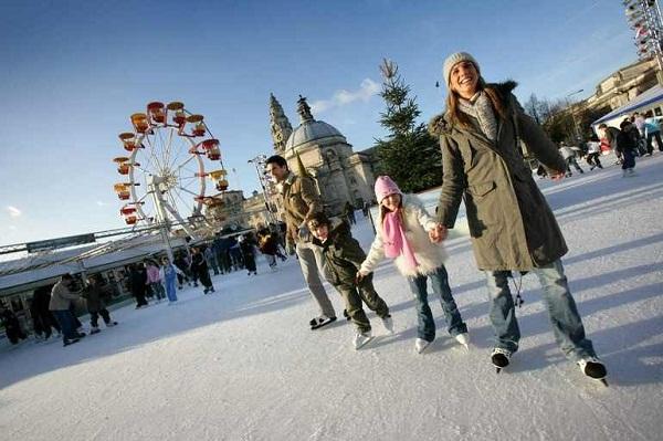 Где погулять в Москве с ребенком зимой