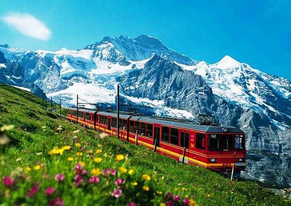 Высокогорная железная дорога «Юнгфрау»