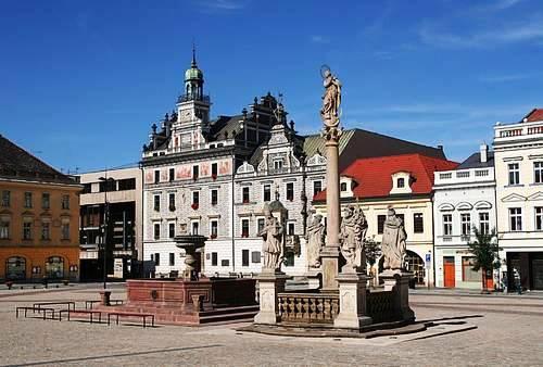 Центр города Колин