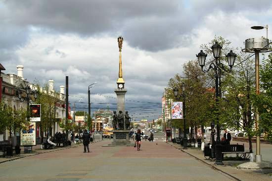 Улица Кировка