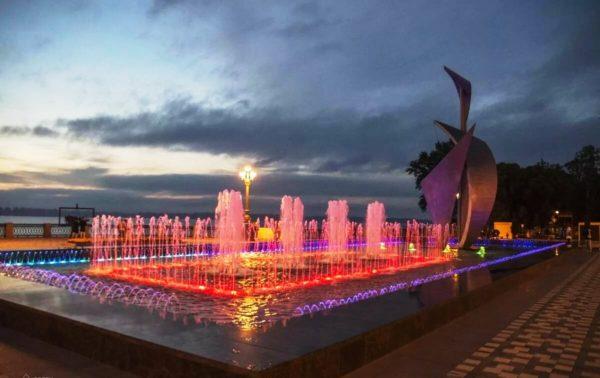 фонтан «на Осипенко» в Самаре