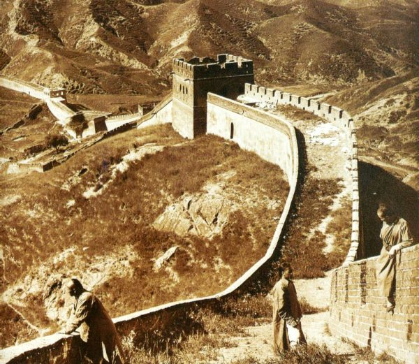 Фото Великой Китайской стены 1907 года