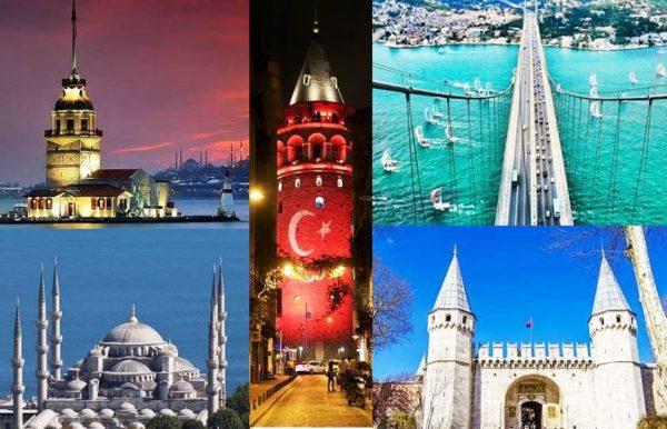Стамбул называют городом мечетей, их здесь очень много
