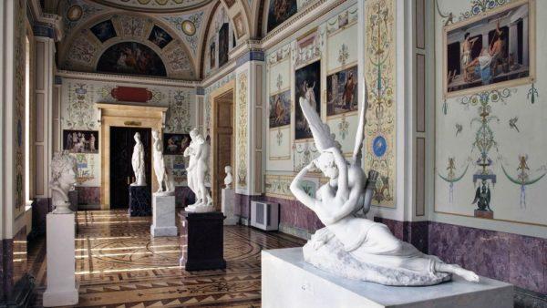 Зал искусства Франции XVIII века
