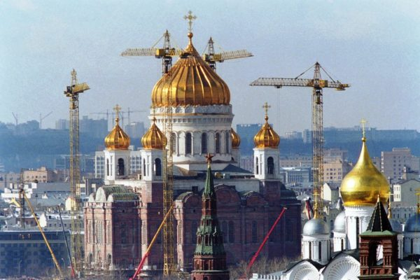 Восстановление Храма Христа Спасителя