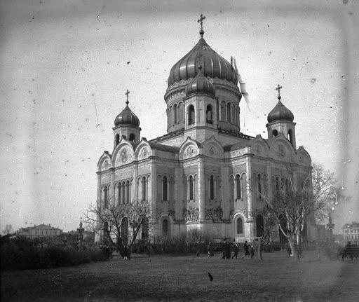 Первый Храм Христа Спасителя в Москве