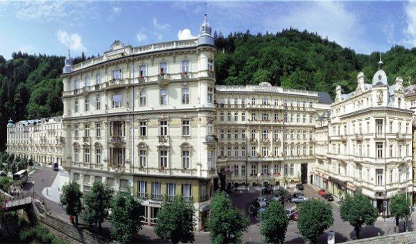 Грандотель Imperial стал первым архитектурным объектом Чешской Республики, построенным из бетона