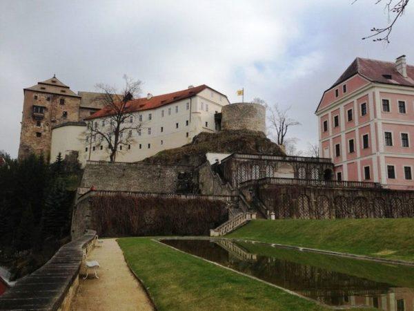 Крепость и замок Бечов-над-Теплоу дошли до современности почти в неизменном виде