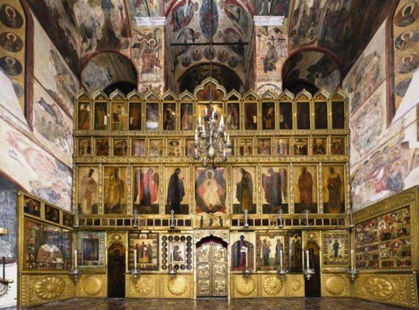 Успенский собор - иконостас
