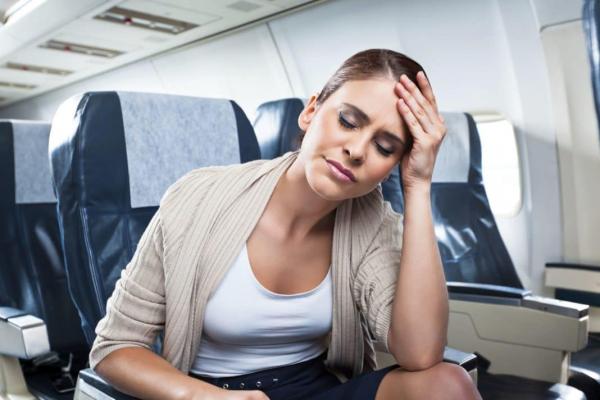 Как избавиться от усталости во время перелета