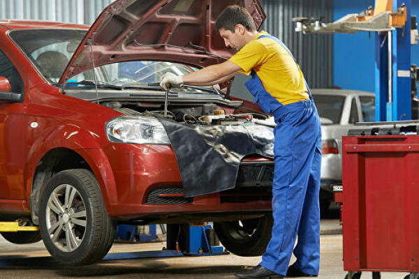 ремонт легковой машины