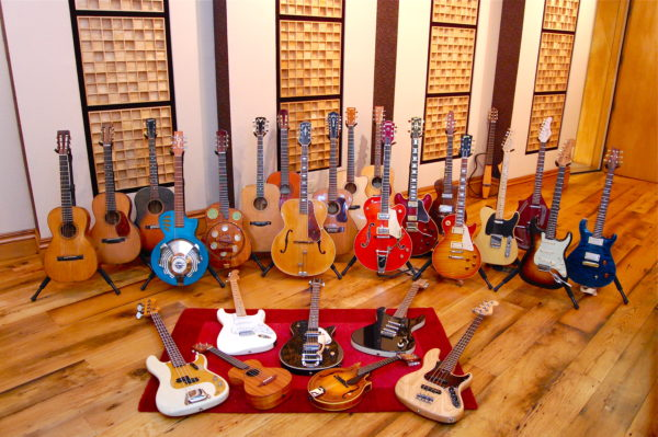 Какие виды гитар бывают