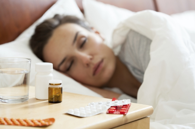 woman-having-autumn-flu