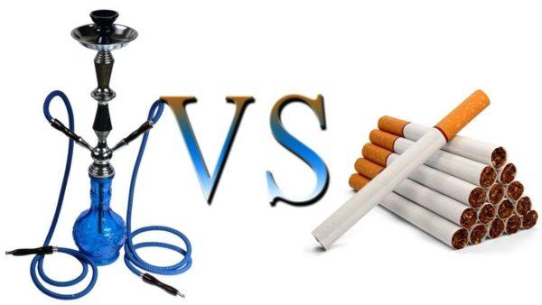 Кальян vs сигарета
