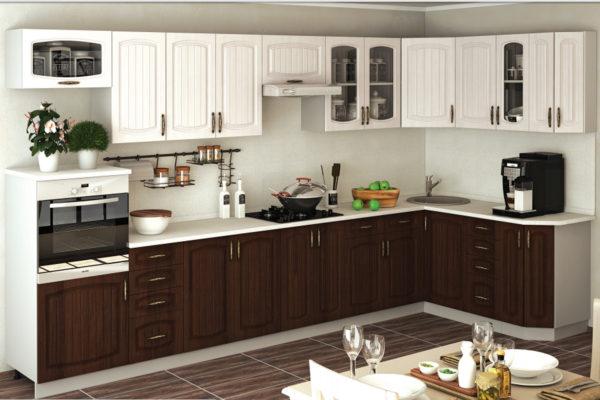 Выбор угловых кухонь из Италии