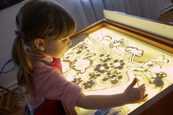 планшет для рисования песком