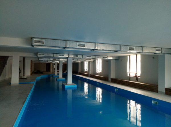 Правильная вентиляция бассейнов