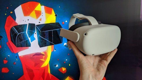 Очки виртуальной реальности Oculus Quest 2 2