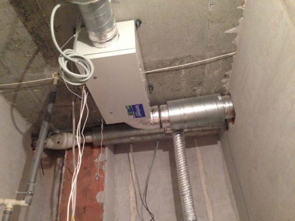 Система вентиляции в квартие 2